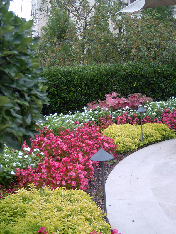 Commercial Landscape Services At Habersham Gardens